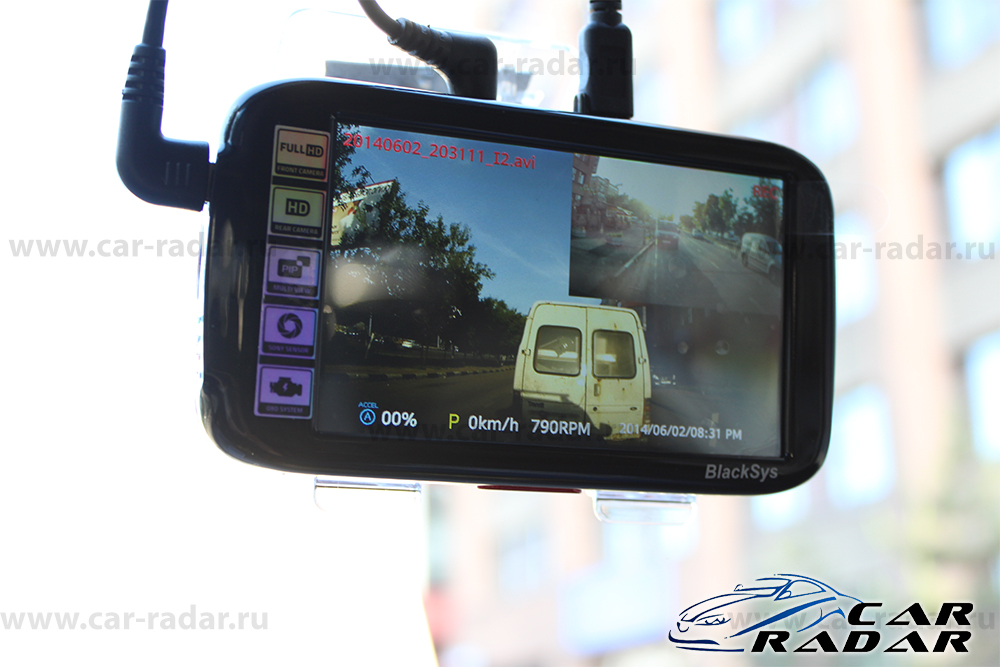 BlackSys CL-100B OBDII-2CH-GPS