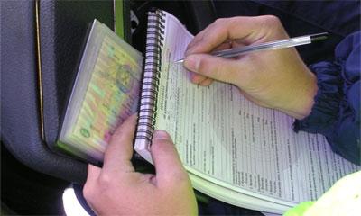 Штрафы ГИБДД за превышение скорости 2012