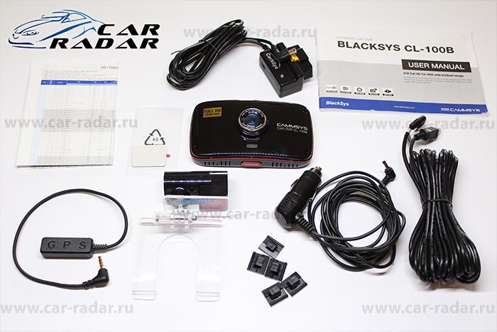 Обзор BlackSys CL-100B OBDII-2CH-GPS