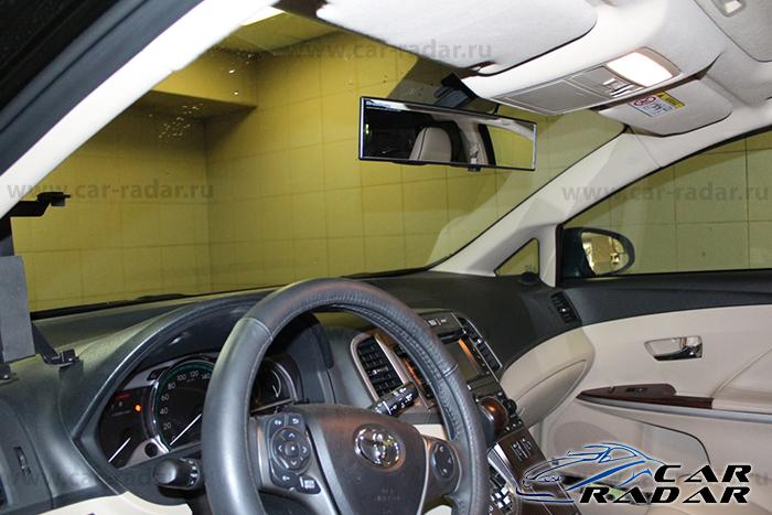 Автомобильный видеорегистратор Blackvue DR500GW-HD с установкой в Toyota Venza