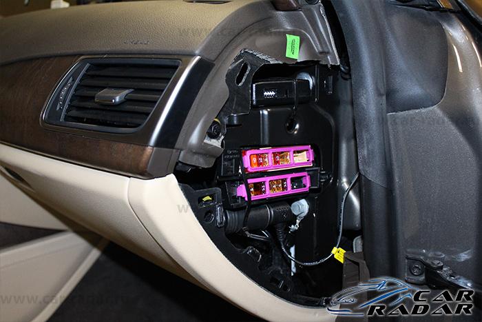 BlackVue DR650GW в Audi A7