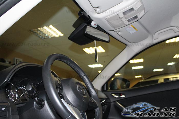 BlackVue DR650GW-2CH в автомобиле Mazda CX5