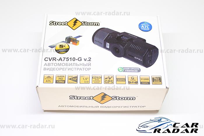 обзор видеорегистратора Street Storm CVR-A7510-G