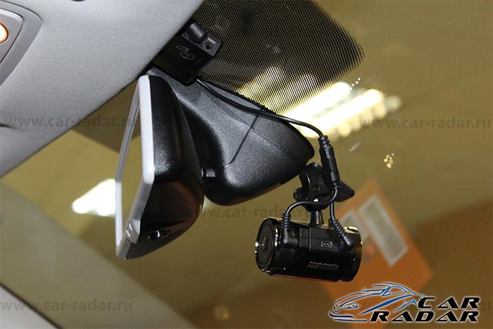 Установка видеорегистратора FineVu CR-500HD