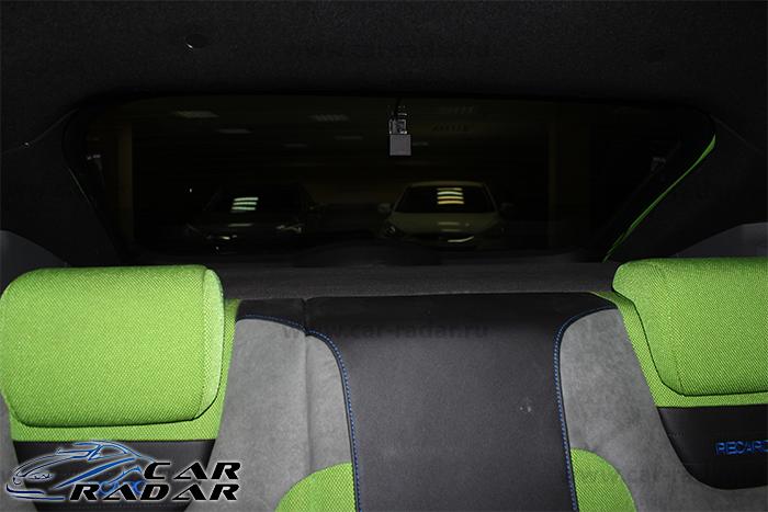 Автомобильный видеорегистратор FineVu CR-2000S с установкой в Ford Focus RS