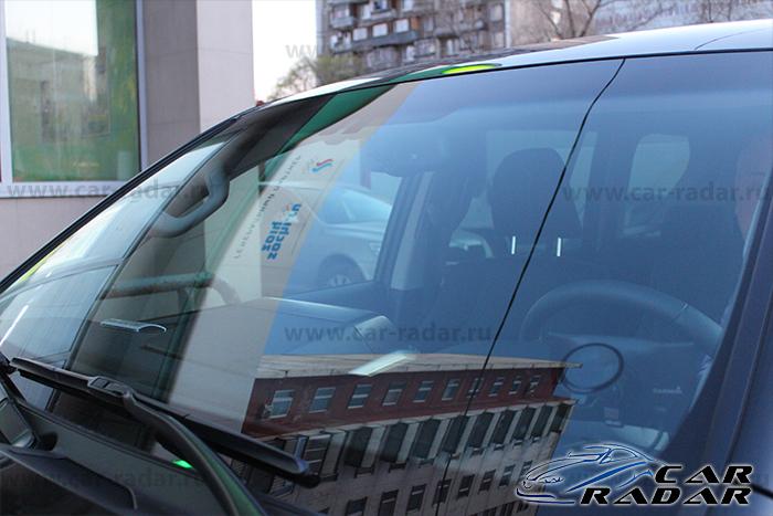 Автомобильный видеорегистратор Qstar RS9 с установкой в Toyota Land Cruiser Prado