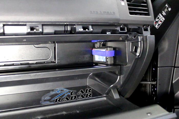 Установка видеорегистратора с выносной камерой Qstar ST8 Swift