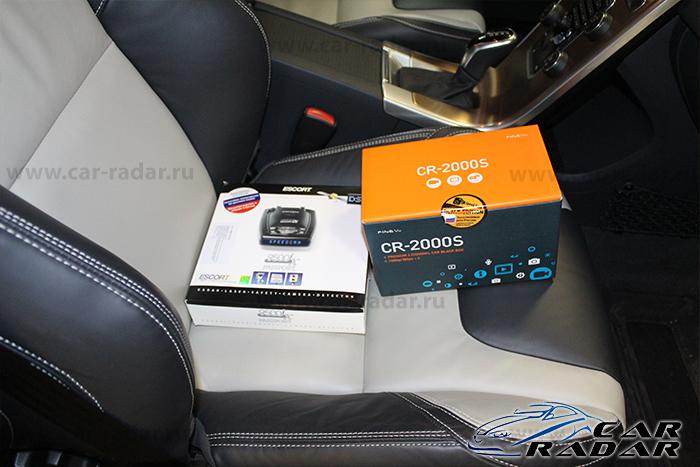 FineVu CR2000S и Escort Passport 9500ix RU в Volvo XC60FineVu CR2000S и Escort Passport 9500ix RU в Volvo XC60