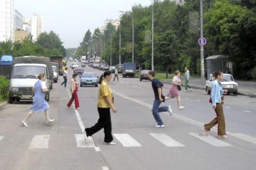 не пропустил пешехода