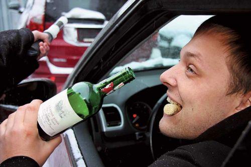 пьяным за рулем