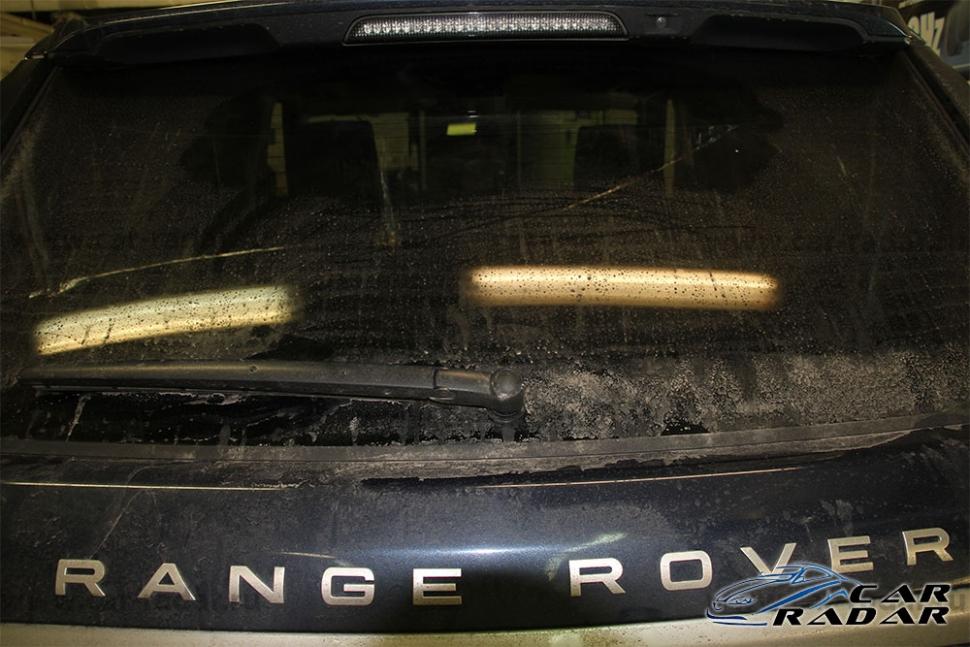 Установка Thinkware Dash Cam X500 в Range Rover Sport