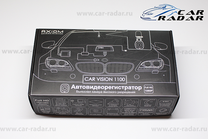Обзор Axiom Car Vision 1100