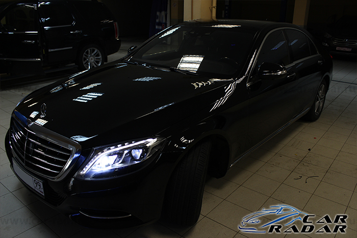 FineVu CR-2000S в Mercedes Benz S500