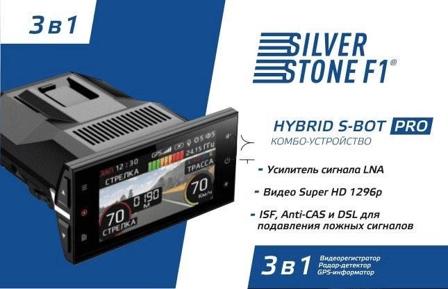 SilverStone F1 HYBRID S-BOT PRO